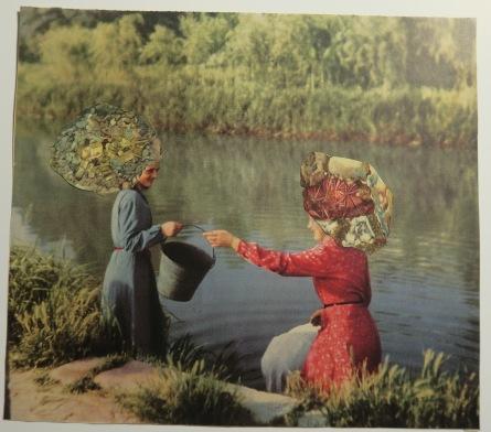 Sono Oroi #2 Paper Collage 18x21, 2018